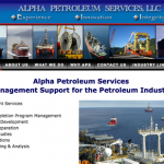 Alpha Petroleum's New Site