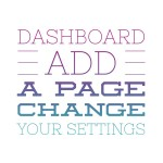 dashboard settings
