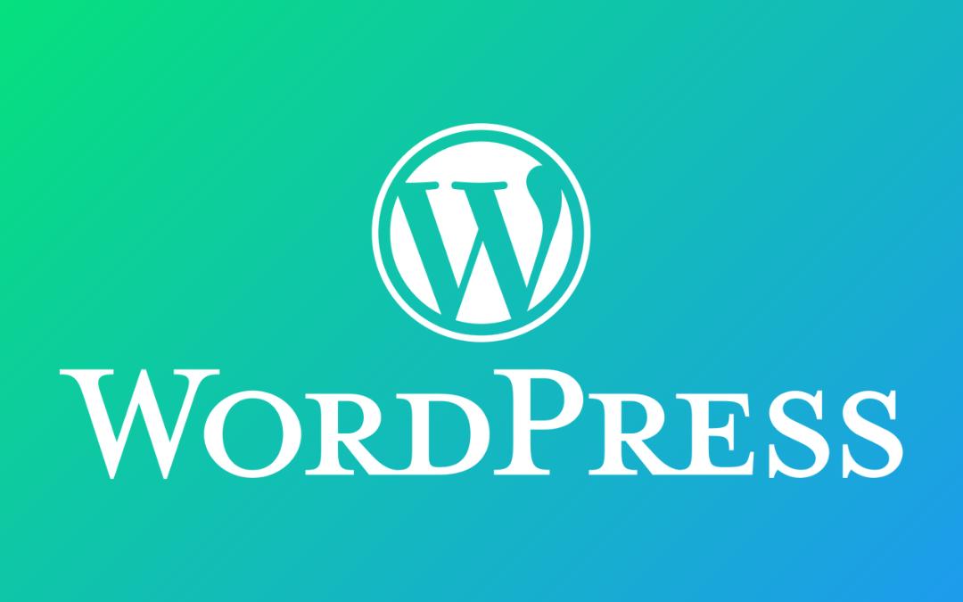 installing wordpress is simple