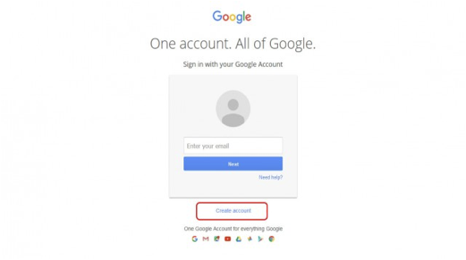 get a google account