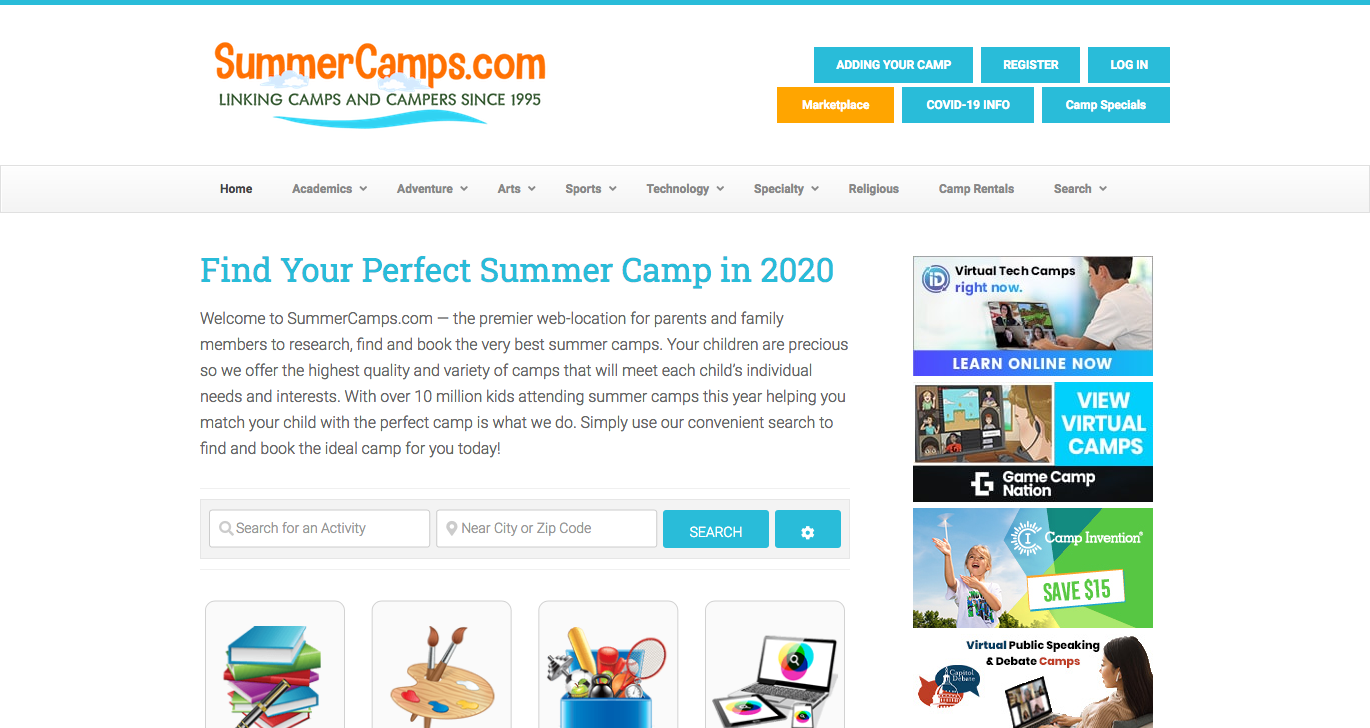 SummerCamps.com