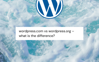 WordPress.com vs. WordPress.org – what's the difference between them?