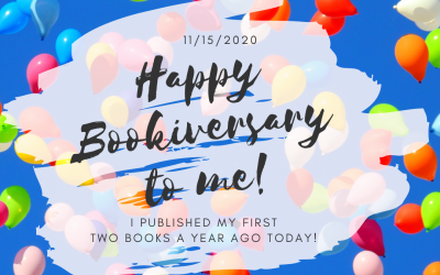 It's my Bookiversary!