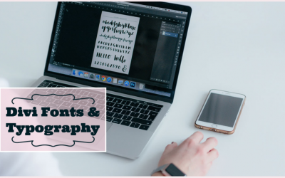 Divi Fonts and Typography